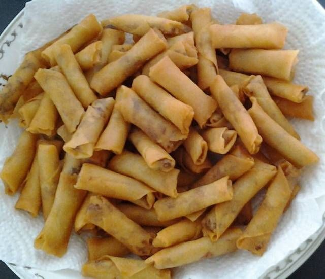 Sumpia Ebi By Purwanti Pratama Resep Aneka Kue Enak Cemilan Makanan Dan Minuman Resep
