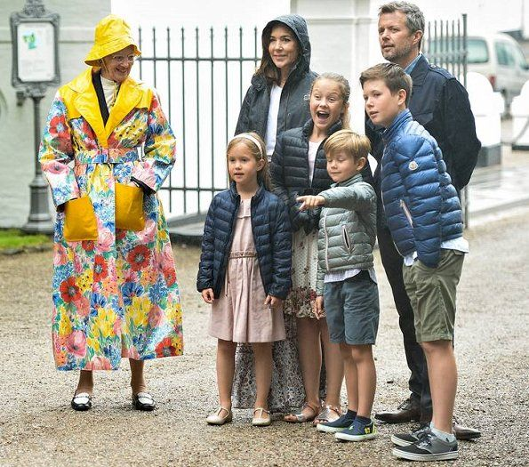 Danish Royal Family attend the 2017 horse parade in Grasten