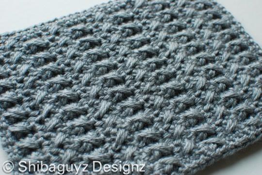 Crochet Patterns Block Afghan : Week #4 Scavenger Hunt Block Free crochet afghan block ...