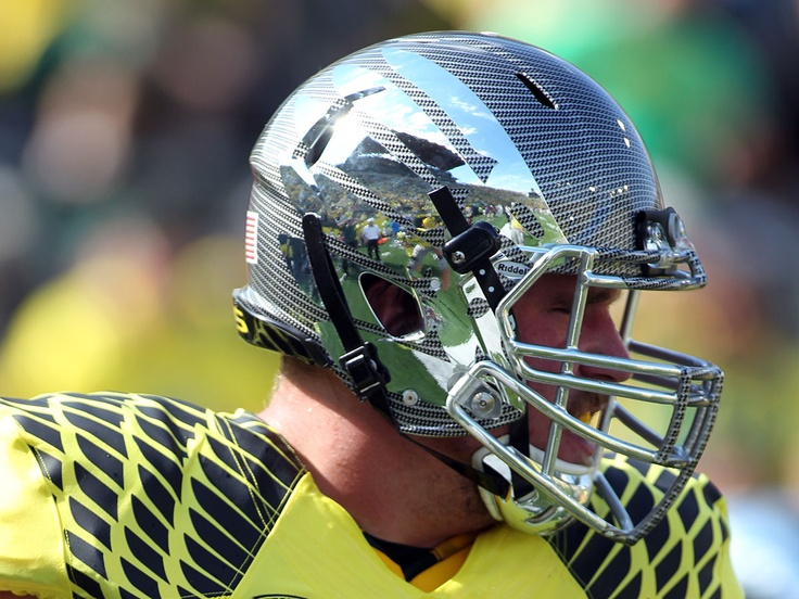 Ducks  Eric Evans  Evans Photo  Fiber Helmets  Carbon Fiber  OregonOregon Ducks Carbon Fiber Helmet