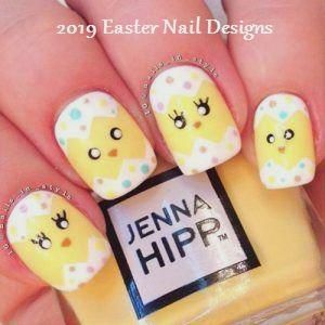 28 Ideas for a Festive Manicure for Easter 2019 #easternail