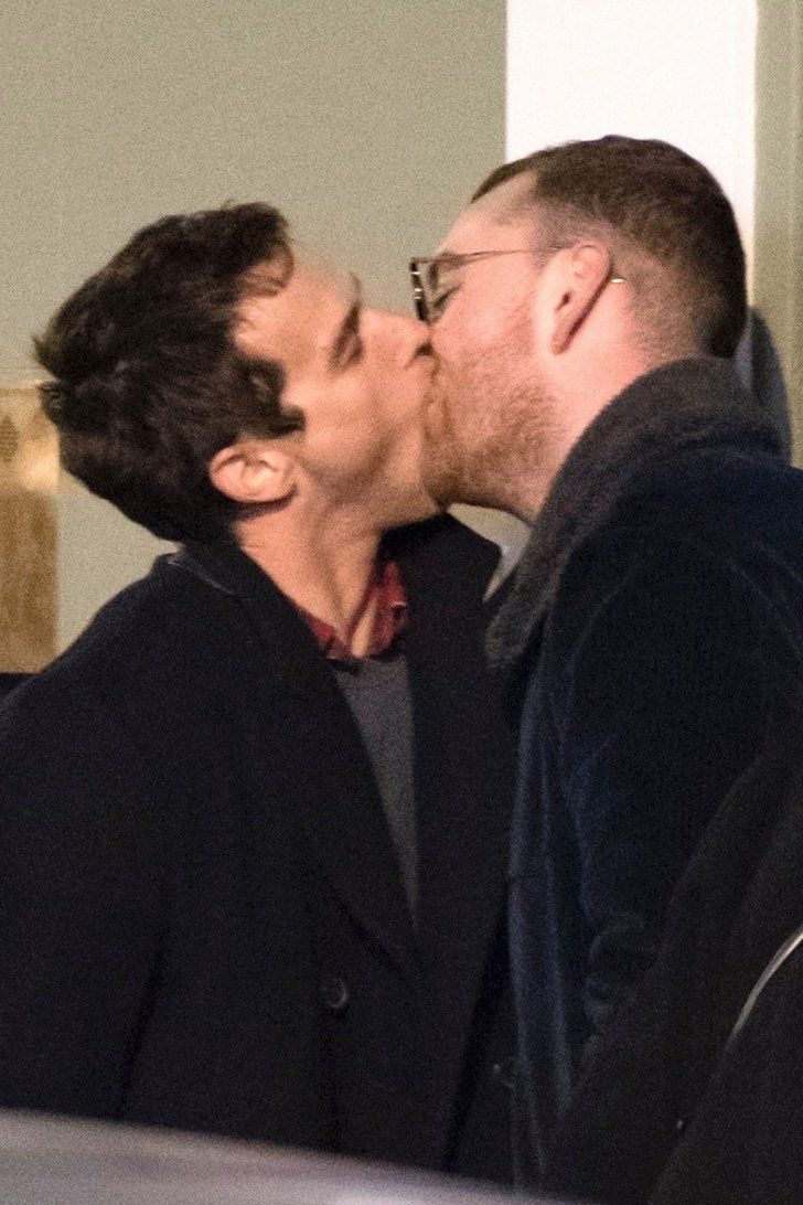 Sam Smith Has A Passionate Makeout Session With Brandon Flynn In London