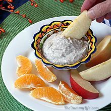 fruits with seeds healthy yogurt fruit dip recipe