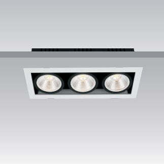 X-B0X-112 #downlights  Single, double and triple lamp models available.  #Haneco #Lighting #LED #lights #commercial #office #home #decor #energyefficient
