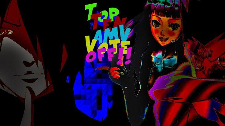 Top Ten Anime Music Video Vote Off  - October 6, 2016
