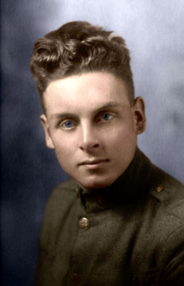John Babcock in 1920. He was the last Canadian veteran of the First World War, until his death in 2010 at the age of 109.