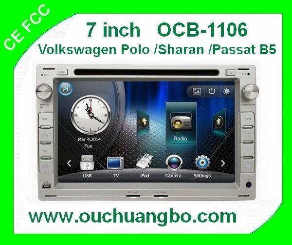 Ouchuangbo Volkswagen Sharan Jetta 1999-2005 audio radio sat  navi kit