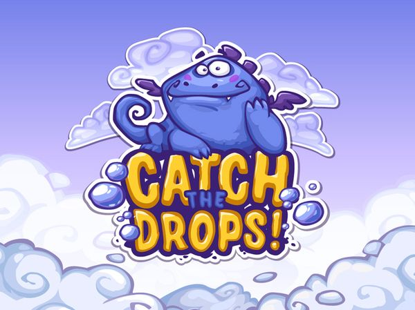 Catch the Drops by Diana Dementeva, via Behance