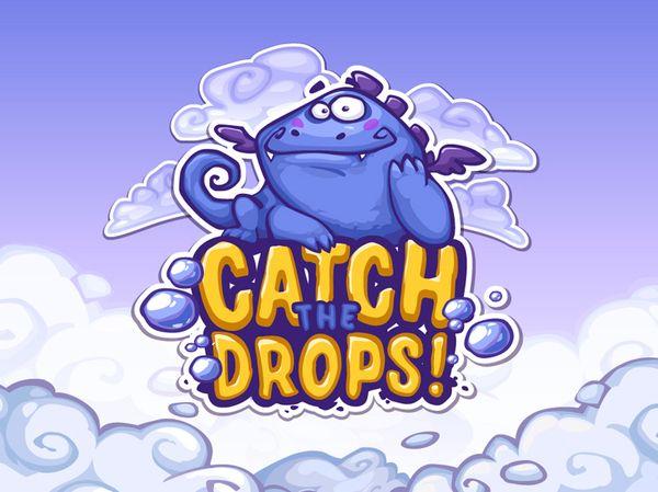 Catch the Drops by Diana Dementeva, via Behance