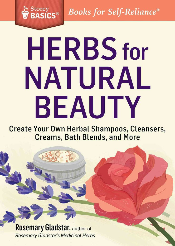 In this Storey Basics guide, renowned herbalist Rosemary Gladstar shares her favorite recipes for holistic beauty and body care, including her amazing five-step skin care program and all-natural recip