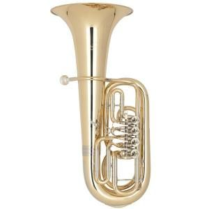 Bb Kaiser Baritone Miraphone - 56A Gold Brass
