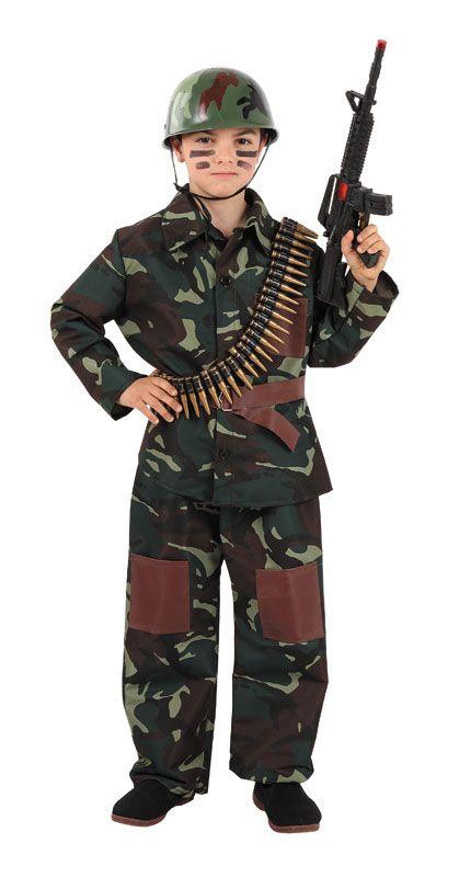 Disfraz de #militar para niños