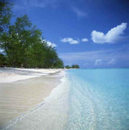 Grand Caymans Island actually has the white sand clear blue water you dream of... Loved it!
