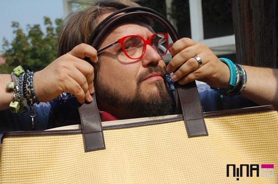 Come Testimonial molto CURVY per le borse NINAco. Autunno 2011.