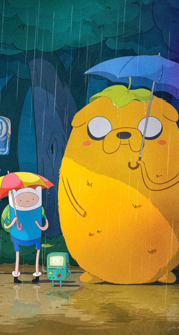 Adventure Time My Neighbor Totoro!!! zomg