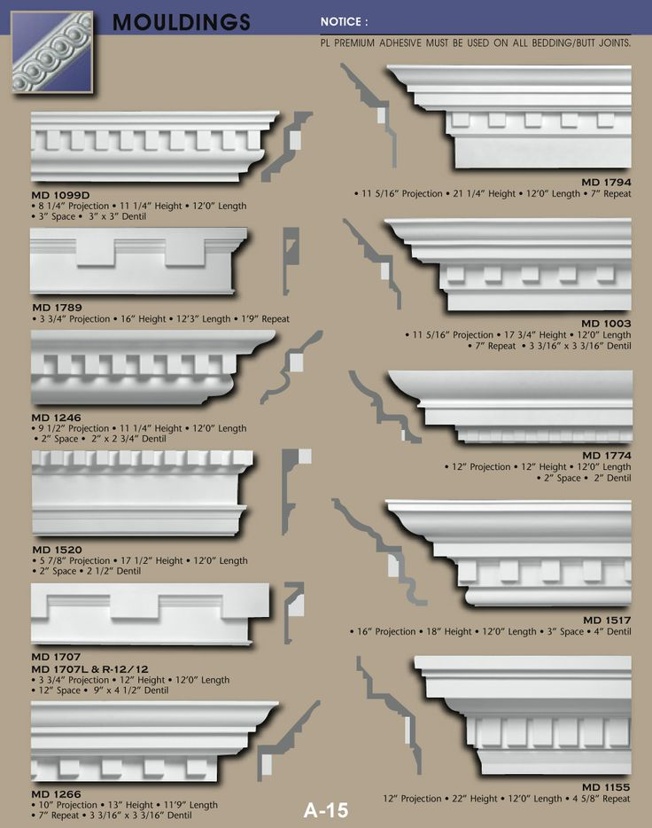 exterior dentil moulding - Google Search