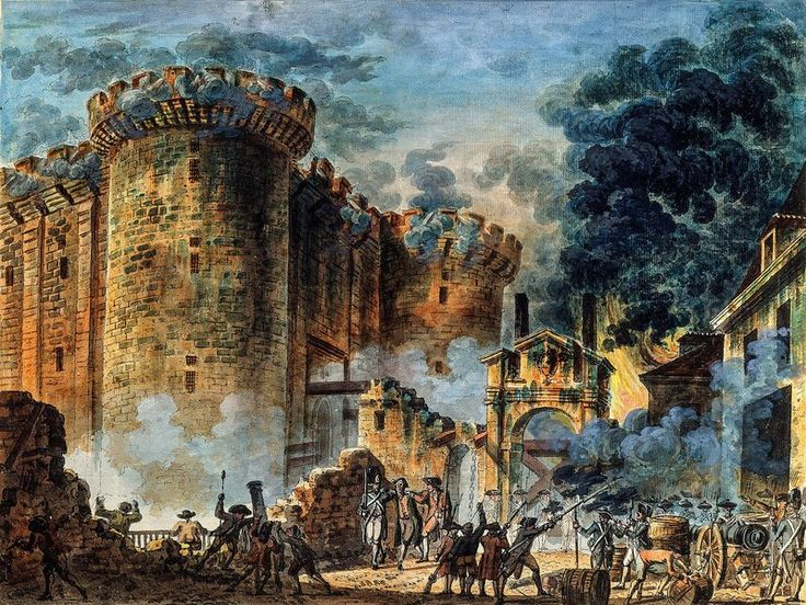 bastille fort in france
