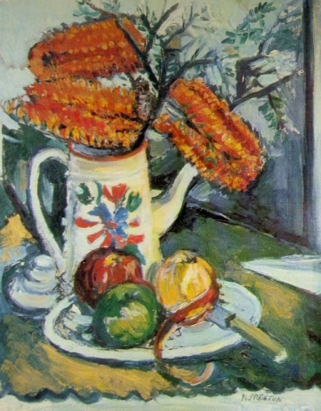 Margaret Preston, Still Life with Banksia
