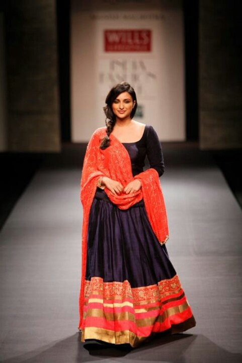 Parineeti Chopra in Manish Malhotra