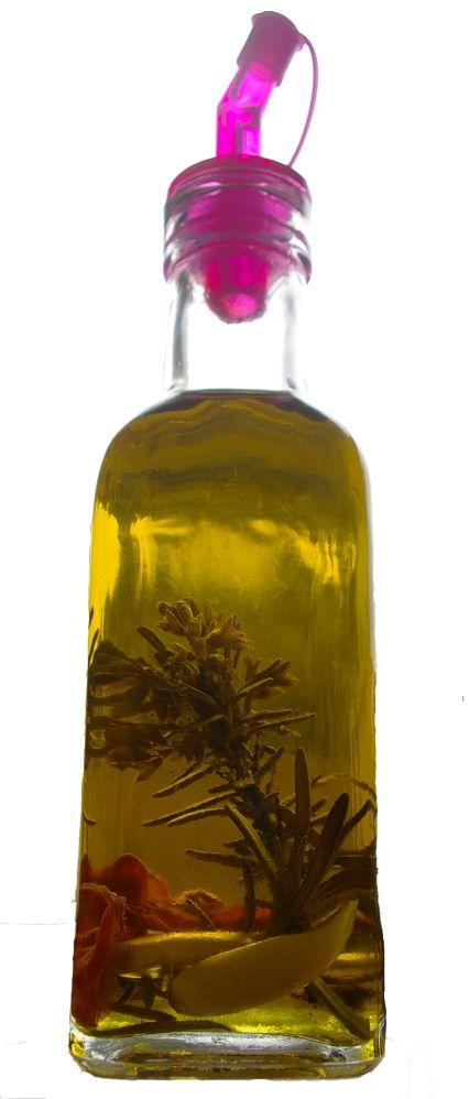 olej s chilli a rozmarínom