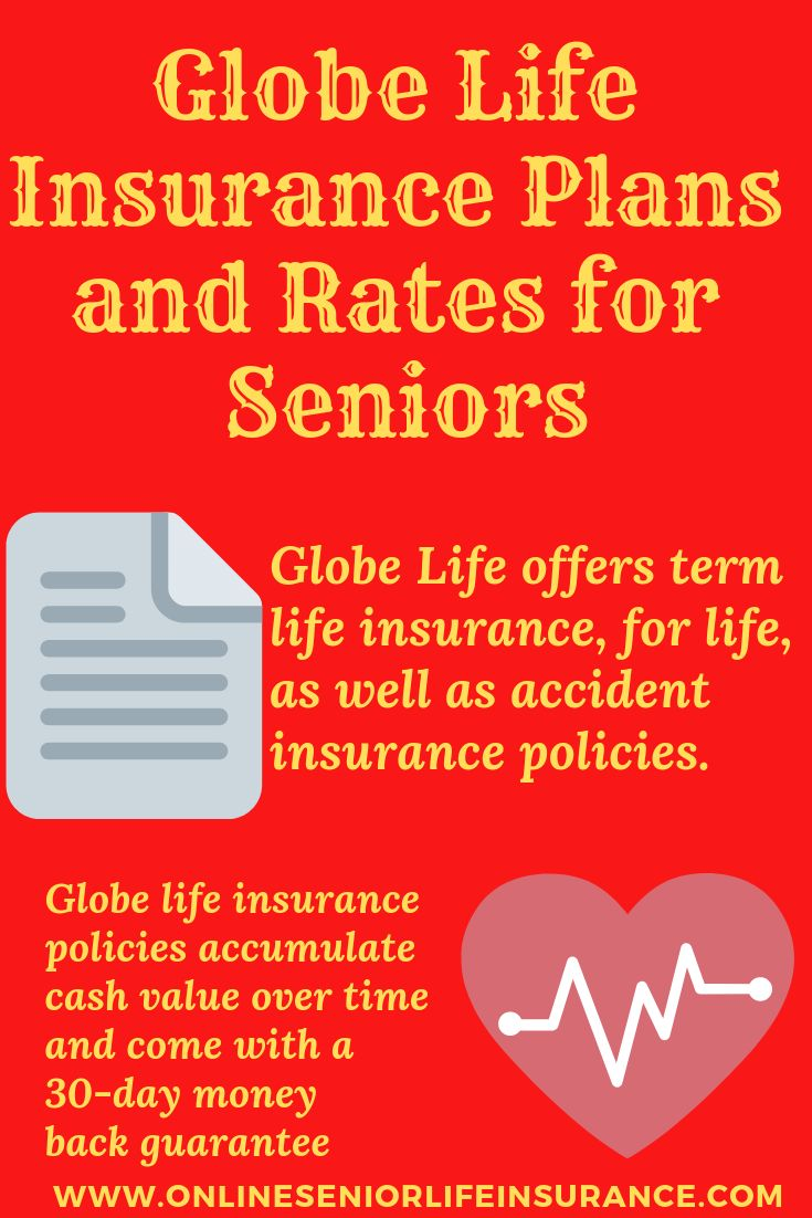 Globe life insurance plans and rates for seniors life
