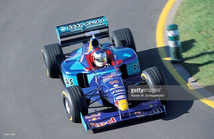 Jean Alesi, Sauber-Petronas, Melbourne, Australia, 1998.