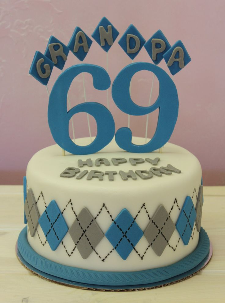 Birthday Cakes - Birthday cake for a first time grandpa. https://www ...