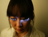 LED eyelashes ... whyy??