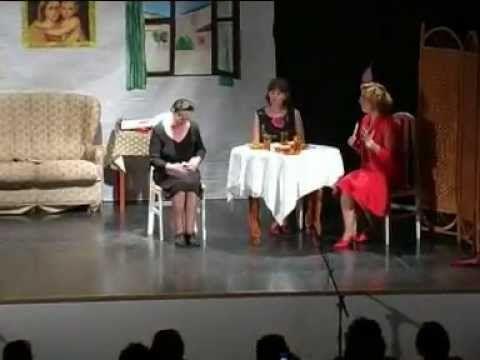 Teatro- Mamá Cora (obra completa)(Puebla de los Infantes) por juanfruz - YouTube