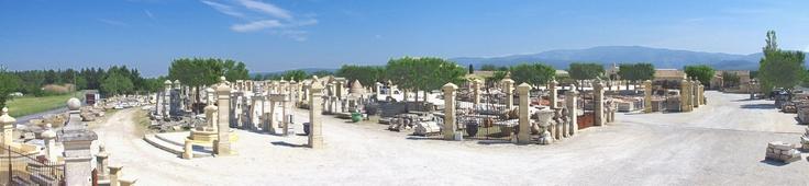 Vue panoramique sur le parc d'expostion