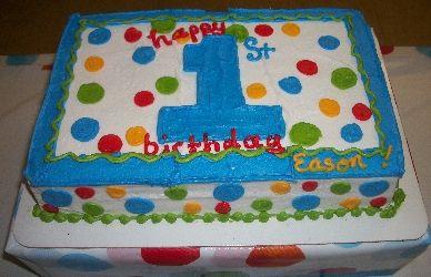 Polka-Dot-First-Boy-Birthday-Cake.