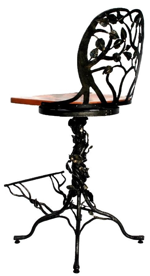 """Incredible! Tree Bar Stool Made by """"Custom Made""""  very unique & beautiful @CustomMade"""