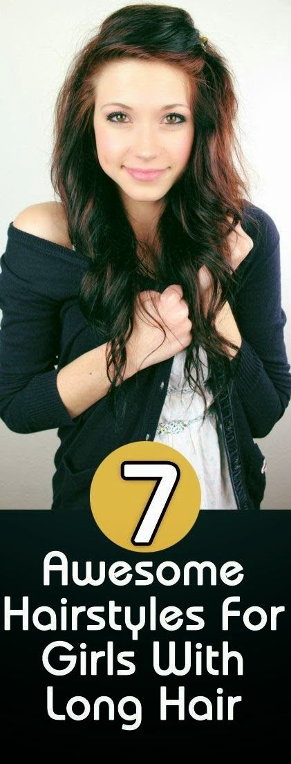 Amazing Hairstyles for Girls with Long Hair | My Favorite Things