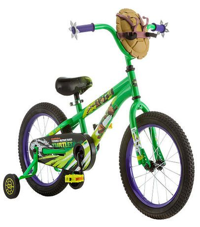 Boys 16 inch Schwinn Teenage Mutant Ninja Turtle Bike