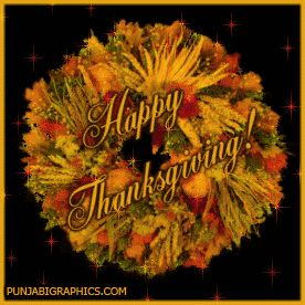 Thanksgiving GIF in 2020 | Thanksgiving greetings, Happy ...
