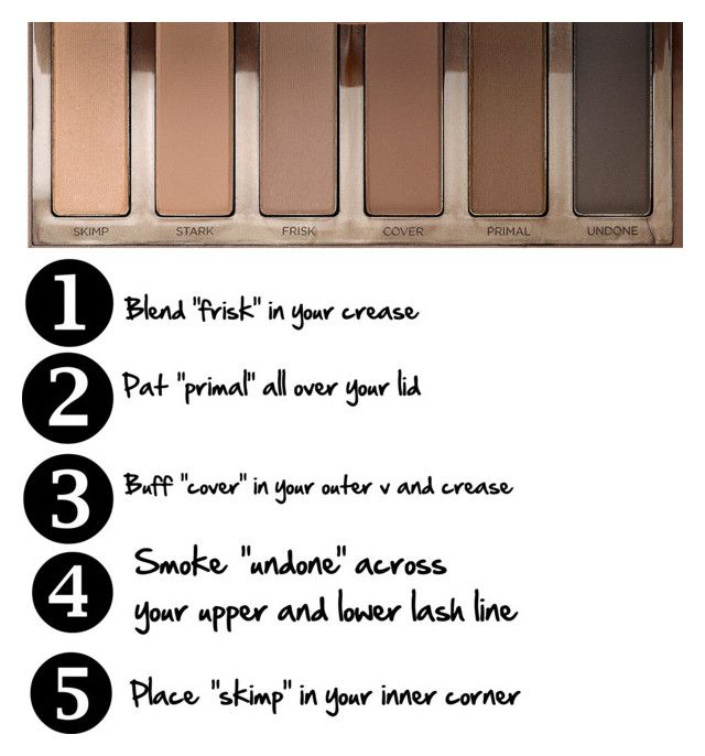 """Naked 2 Basics palette"" by kaelahclothier ❤ liked on Polyvore featuring beauty and Urban Decay"