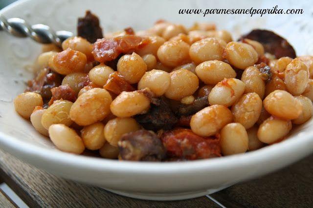 Parmesan et Paprika: Haricots Blancs et Chorizo