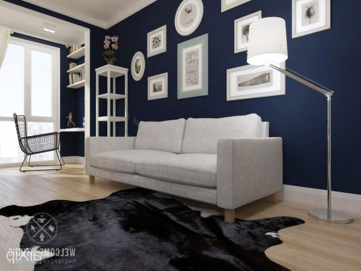 Фото Однокомнатная квартира «IKEA style». Гостиная - интерьеры, зd...