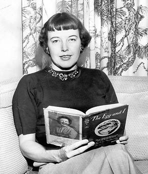 Betty MacDonald 1908-1958 ~ Writer of The Egg and I