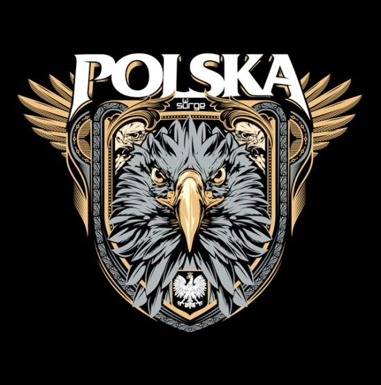 Poland designs | ... Collection tee shirts eagle Polish Polandia Polska Logo tee shirts