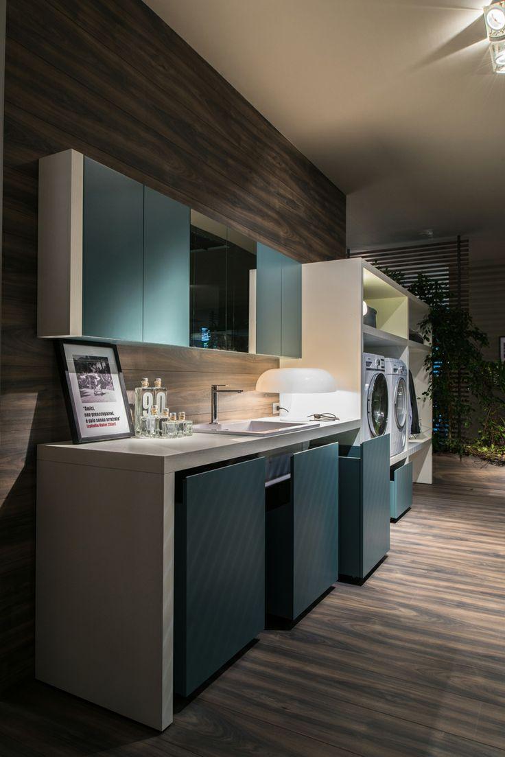 L'arredo bagno per lavanderia firmato Ideagroup, Salone del Bagno 2014.