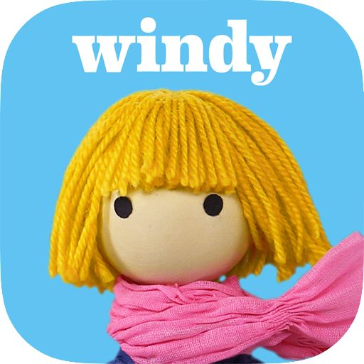 Amazon.com | Windy's Lost Kite on the Appstore for Android | A charming story about a little girls' search for her kite. Made with handmade puppets and sets that your child can interact with — after playing with this they will want to make their own! For tablets and smartphones.