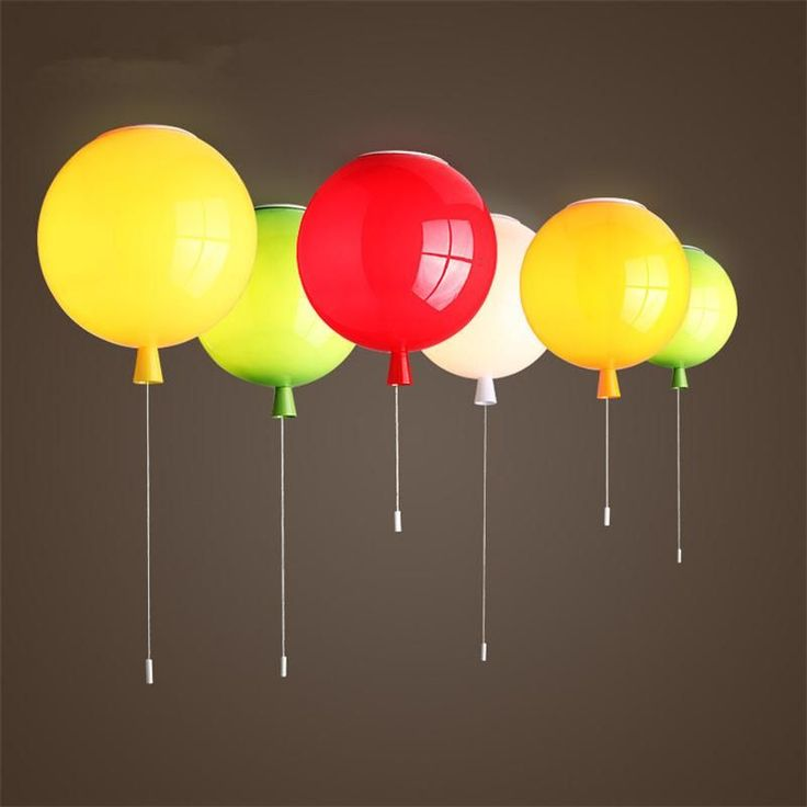 ==> [Free Shipping] Buy Best Colorful Balloon Ceiling Lights Baby Children's Room Cozy Lamp Lustre Luminarias Minimalist Plafonnier Moderne Lamparas de Techo Online with LOWEST Price | 32717589779