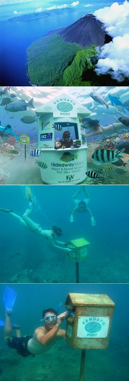 exPress-o: World's Only Underwater Post Office