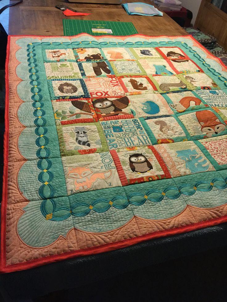The Quilt I Made Baby Addi With Anita Good Design Animal