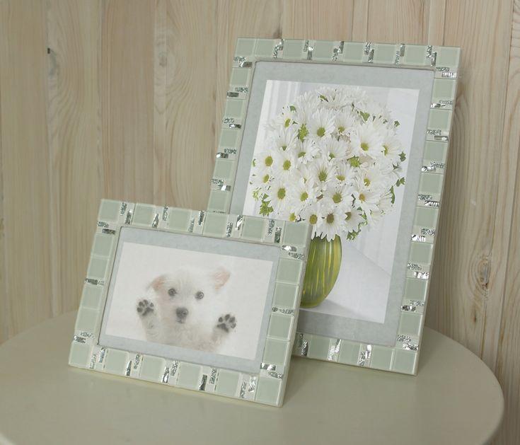 white frame set 5x7 frame 8x12 frame mosaic frame set picture frame