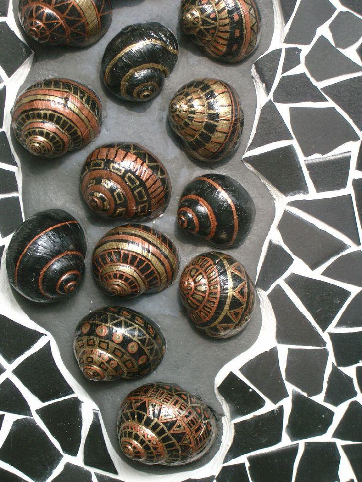 die 25 besten ideen zu bemalte muscheln auf pinterest muschelkunst shell malerei und. Black Bedroom Furniture Sets. Home Design Ideas