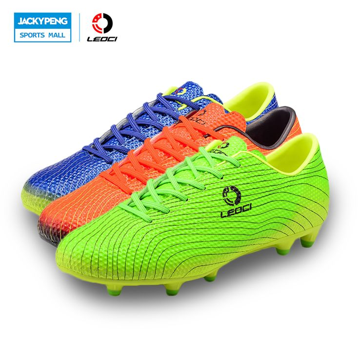 Leoci Mens Soccer Shoes Cleats A Kids Football Boots Outdoor Training Soccer Shoes Brand Series Soccer Cleats High Quality