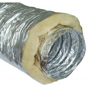 102mm Insulated (soundproof) ventilation duct