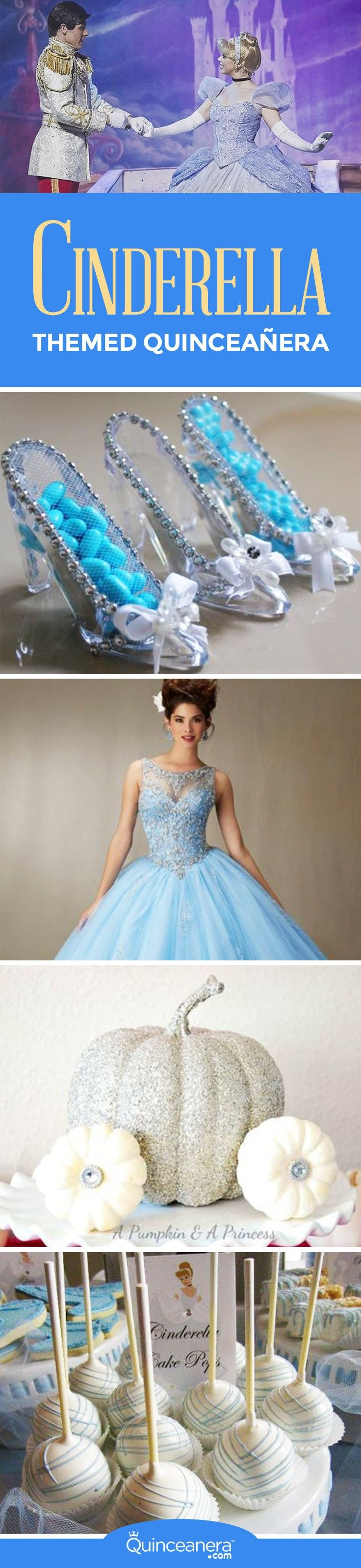 In order to pull the perfect Cinderella themed quinceanera you must first locate the key elements of the story and come up with ways to adapt these to your main Quince categories. - See more at: http://www.quinceanera.com/decorations-themes/plan-cinderella-themed-quinceanera/?utm_source=pinterest&utm_medium=social&utm_campaign=article-030416-decorations-themes-plan-cinderella-themed-quinceanera#sthash.NIxCkLde.dpuf